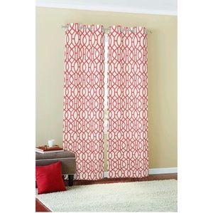 NIP Set of (2) 84-inch Grommet Curtain Panels